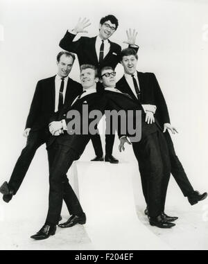FREDDIE AND THE DREAMERS  Promotional photo of UK pop group about 1963. Photo Polygram - Stock Photo