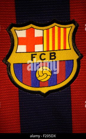 Markenname: 'FC Barcelona', Berlin. - Stock Photo
