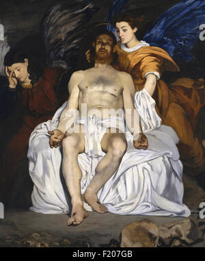 Edouard Manet - The Dead Christ with Angels - Stock Photo