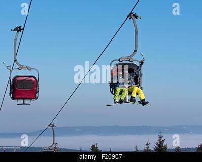 Skilift - Stock Photo