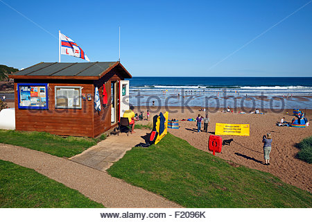 Coldingham bay, Berwickshire Scotland - Stock Photo