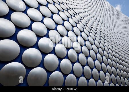 Exterior of the Selfridges Building, Bullring Shopping Centre, Birmingham, West Midlands, England, United Kingdom, - Stock Photo
