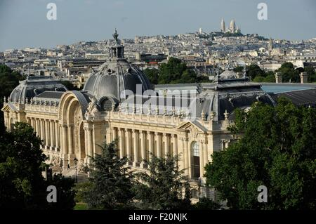 France, Paris, Le Petit Palais is a historical monument in Paris, now used as a museum of fine arts, which was built - Stock Photo