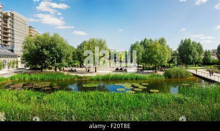 France, Paris, 17th arrondissement, Batignolles, Martin Luther King Park