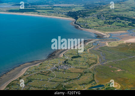 Shell Island North Wales Aerial Pics