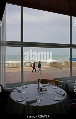 France, Calvados, Sea resort city of Cabourg, in the footsteps of writer Marcel Proust in Grand Hotel (1907-1914), - Stock Photo