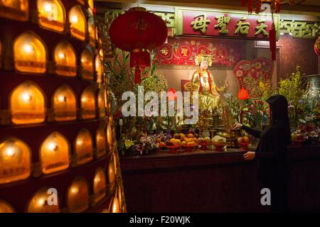 Canada, Quebec province, Montreal, Chinese New Year, Centre for the Study of Chinese Religions and Beliefs in Montreal, - Stock Photo