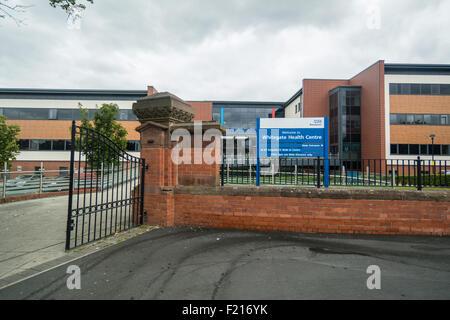 Whitegate drive medical centre entrance in Blackpool ...