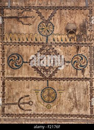 Ancient doors, Morocco - Stock Photo
