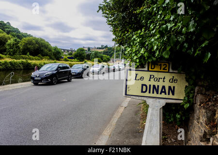 Port du Dinan, Brittany, France July 2015 PHILLIP ROBERTS - Stock Photo