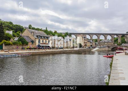 Port du Dinan, Brittany, France July 2015 PHILLIP ROBERTS - Stock Photo