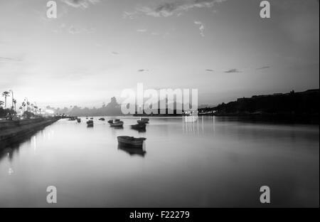 Habana's pier, Cuba - Stock Photo