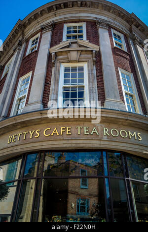 Bettys cafe and tearooms, York. - Stock Photo