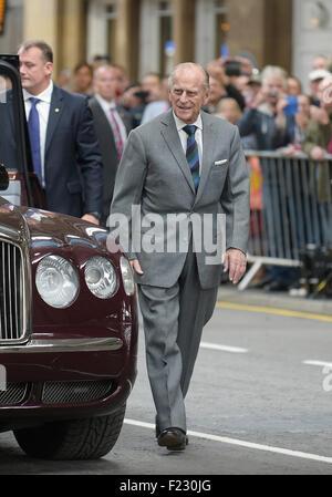 Prince Philip, Duke of Edinburgh, Earl of Merioneth and Baron Greenwich - Stock Photo