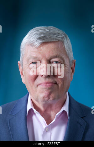 Alan Johnson, British Labour Party politician and writer, at the Edinburgh International Book Festival 2015. Edinburgh, - Stock Photo