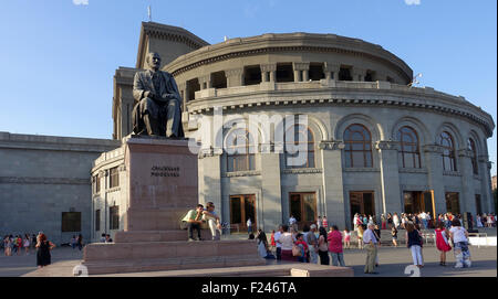 Opera House, Yerevan, Armenia - Stock Photo