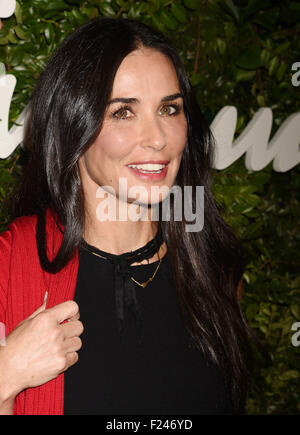 DEMI MOORE US film actress in September 2015. Photo Jeffrey Mayer - Stock Photo