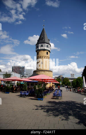 Bockenheimer Warte, Frankfurt am Main. - Stock Photo
