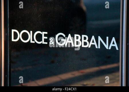 Markennamen: 'Dolce Gabbana', Berlin. - Stock Photo