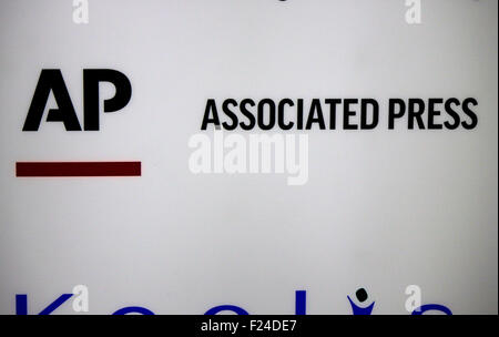 Markenname: 'AP - Associated Press', Dezember 2013, Berlin. - Stock Photo