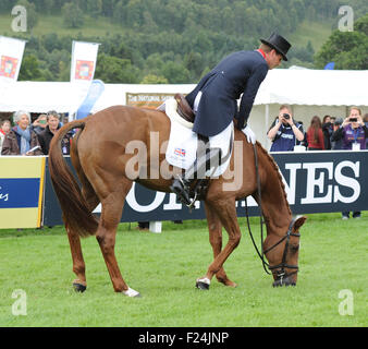 Blair Atholl, Scotland, UK. 11th September, 2015. Longines  FEI European Eventing Championships 2015, Blair Castle. - Stock Photo