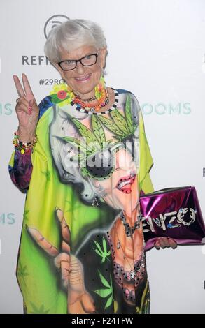 Brooklyn, NY, USA. 10th Sep, 2015. Baddiewinkle at arrivals for Refinery29 Fashion Week Destination: 29Rooms Opening - Stock Photo