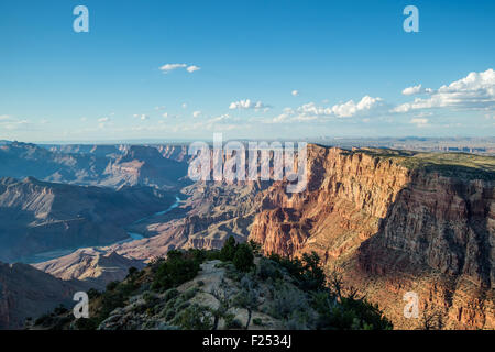 Beautiful view of the Grand Canyon National Park from the South Rim, Arizona, USA - Stock Photo