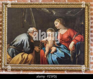 France, Tarn, Albi, Sainte Cecile cathedral, listed as World Heritage by UNESCO, picture in the Treasury room - Stock Photo