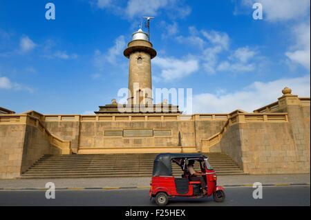 Sri Lanka, Western Province, Colombo District, the Colombo lighthouse - Stock Photo