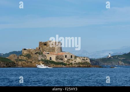 France, Var, Iles d'Hyeres, Parc National de Port Cros (National park of Port Cros), Porquerolles island, Petit - Stock Photo