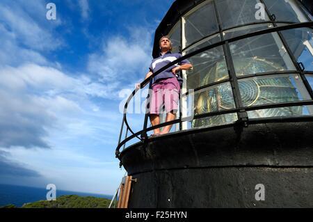 France, Var, Iles d'Hyeres, Parc National de Port Cros (National park of Port Cros), Porquerolles island, the Porquerolles - Stock Photo