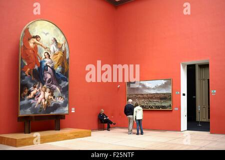 Belgium, Brussels, Royal Museums of Fine Arts, Museum of Ancient Art (Old Masters Museum) - Stock Photo