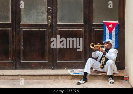 Cuba, Havana, Habana vieja, old town around Plaza de Armas