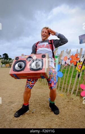 Bestival music festival 2015, Isle of Wight, UK - Stock Photo