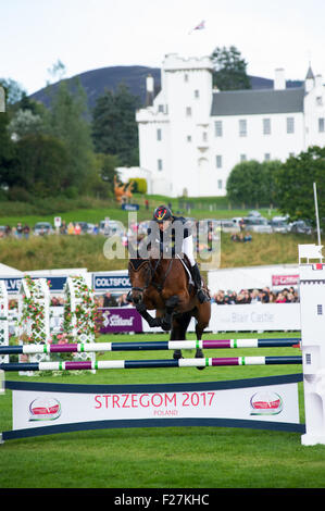 Blair Atholl, Scotland 13th of September 2015. Longines FEI European Eventing Champions held at Blair Atholl Estate. - Stock Photo