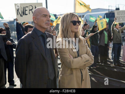OUR BRAND IS CRISIS 2015 Warner Bros film with Sandra Bullock and and Billy Bob Thornton - Stock Photo