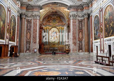 Basilica di Santa Maria degli Angeli e dei Martiri, Basilica, Rome, Lazio, Italy - Stock Photo