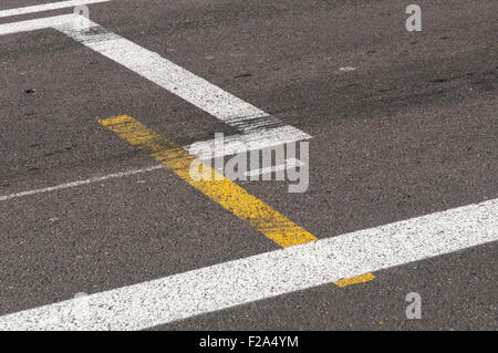 Pole Position at the Monaco GP Formula 1 race track, Monaco, France. - Stock Photo
