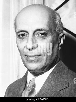 India's Prime Minister Jawaharlal Nehru, ca. Dec. 1959. Actor Roshan Seth portrayed Nehru in GANDHI, the 1982 film - Stock Photo
