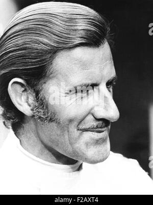 Graham Hill, British Formula One World Champion racing driver, ca. 1971. He is the only driver to win the Triple - Stock Photo