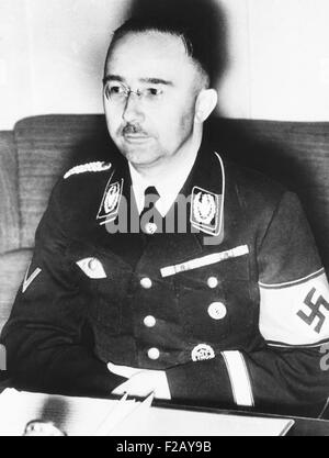 a biography of heinrich himmler a reich ss leader and chief of the german police Heinrich himmler (1900-45), a fervent  himmler proposed the recruitment of non-german citizens, and the waffen-ss eventually  himmler became chief.