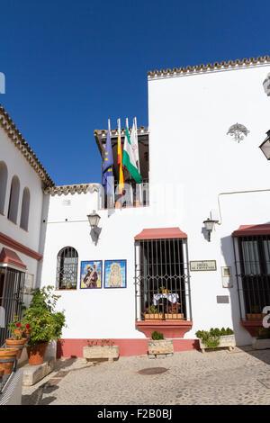 Arcos de la Frontera, Cadiz, Andalusia, Spain - Stock Photo