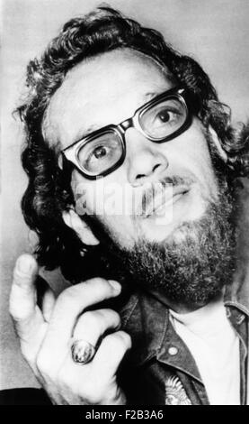 Ralph 'Sonny' Barger, Hells Angel's leader in June 1970. He was a founding member of the Oakland, California, chapter - Stock Photo