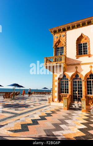 Ca d'Zan, meaning House of John, is the mansion built by John and Mable Ringling in Sarasota, Florida. - Stock Photo