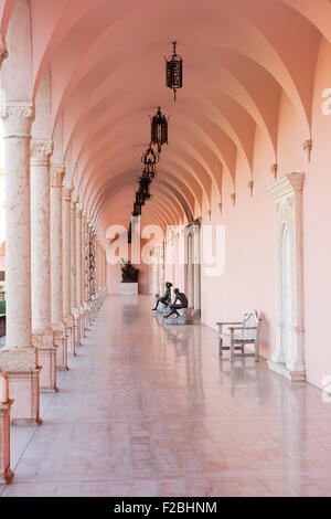 The John and Mable Ringling Museum of Art in Sarasota, Florida. - Stock Photo