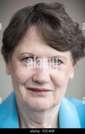 Berlin, Germany. 16th Sep, 2015. Helen Clark, director of the United Nations Development Programme (UNDP), poses - Stock Photo