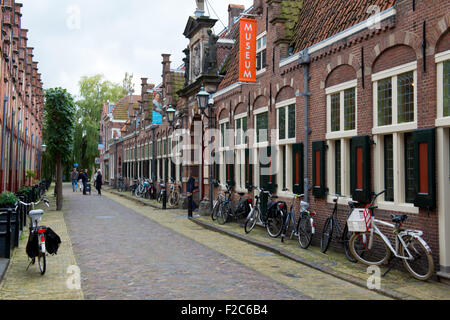 The Frans Hals Museum, in Haarlem, Netherlands - Stock Photo