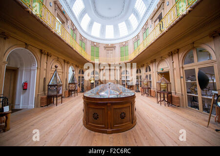 The Teylers Museum the art, natural history, and science museum in Haarlem, Netherlands, - Stock Photo