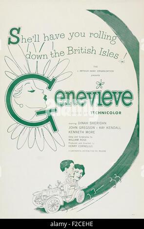 Genevieve (1953)  03065  - Movie Poster - Stock Photo