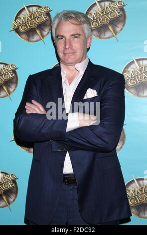 Broadway opening night for Amazing Grace at the Nederlander Theatre - Arrivals.  Featuring: Douglas Sills Where: - Stock Photo